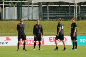 Image of Belgian National team training