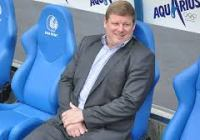 Hein Vanhaezebrouck - man of the moment(picture - http://www.kaagent.be/)