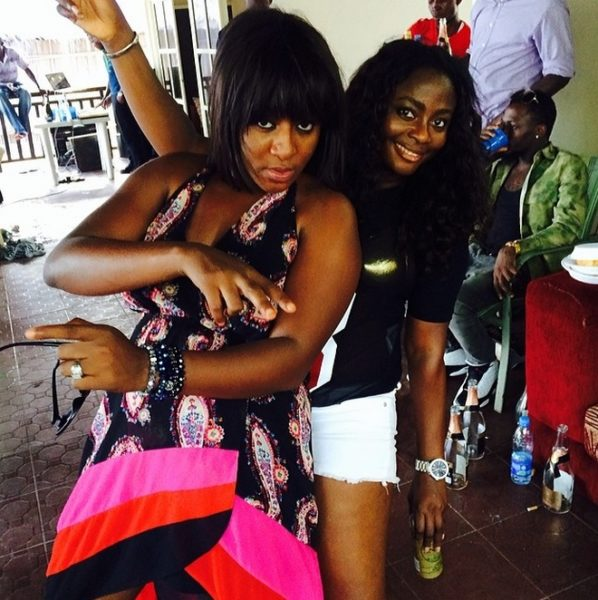 Ini Edo's 32nd Birthday Party - April 2014 - BellaNaija.co 02