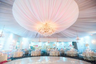 BN Wedding Decor: Omo & Emmanuel's Dreamy Pink & Gold ...