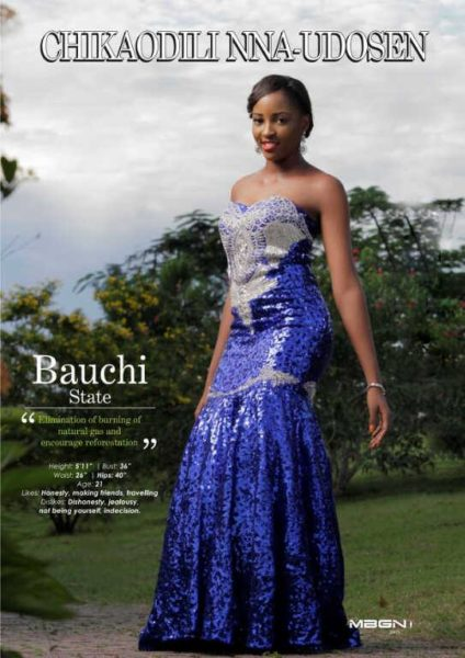 Runner Up Miss Bauchi