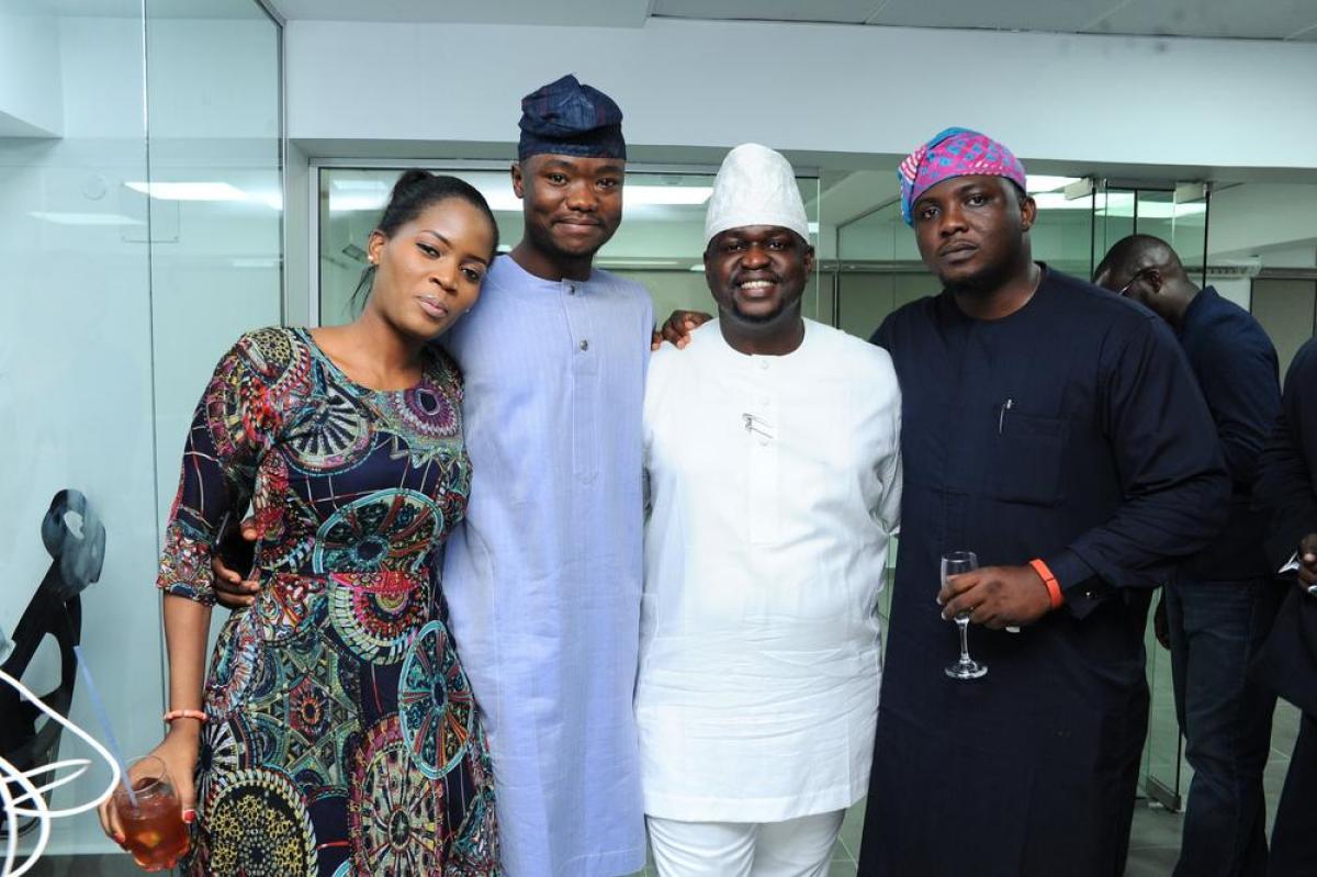 Adenrele Sonariwo, Gbenga Ajala, Kayode Adegbola and Jide Salami