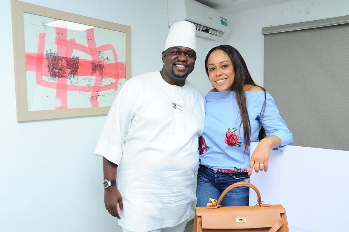 Kayode Adegbola and Shola Akpata