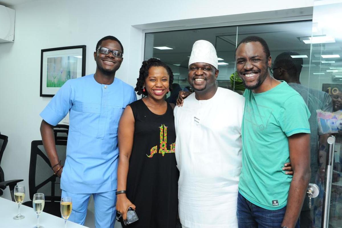 Yomi Ojo, Ebere, Kayode and Seyi Taylor