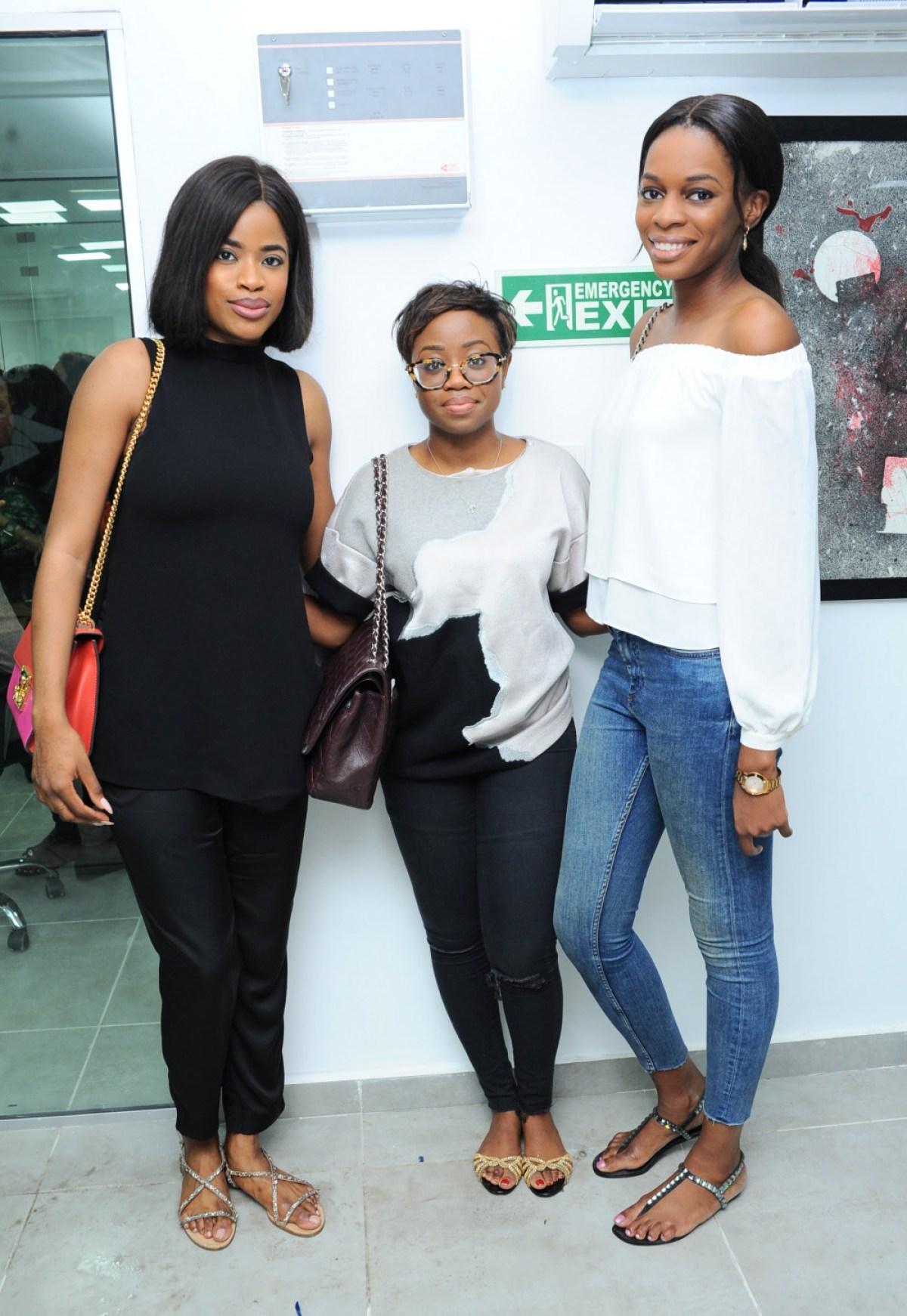 Ore Runsewe, Kike Ojewale and Oby Anadu