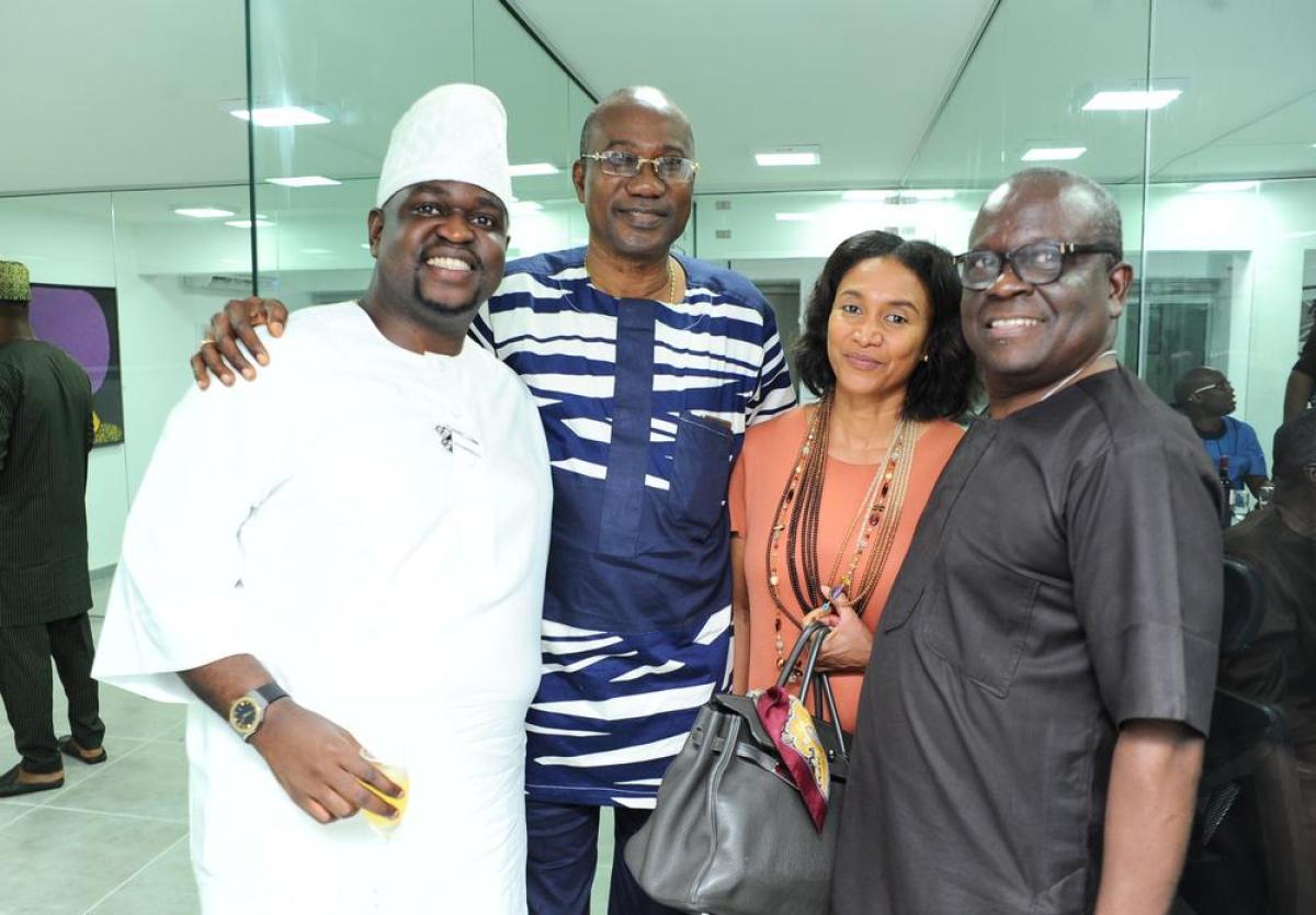Kayode Adegbola, Chief Tunji Alapinni, Solveig Ojora and Gbenro Adegbola