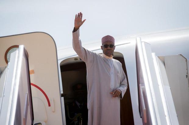 President Buhari Departs for London3