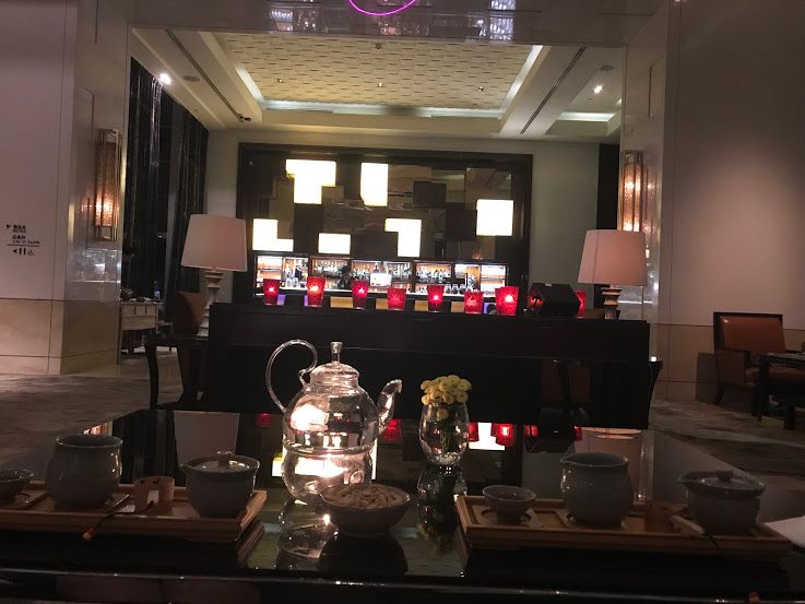 Tea for two at the Four Seasons in Beijing