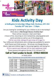 kidz activity day