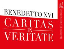 Book cover | Caritas in veritate | Benedetto XVI | Edizioni Cantagalli | Siena