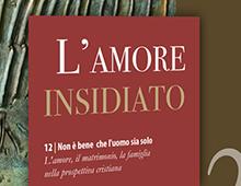 Book cover | L'amore Insidiato | Carlo Caffara