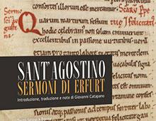 Cover book | Sermoni di Erfurt | Sant'Agostino