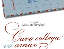 Cover book | Caro collega, caro amico
