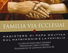 Cover book | Familia via ecclesiae | Giovanni Paolo II