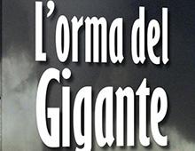 Cover book | L'orma del gigante | Nicola Borin