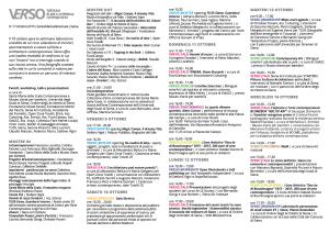 pieghevole programma settimana verso - 32