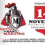 La notte di San Martino – 14 Novembre