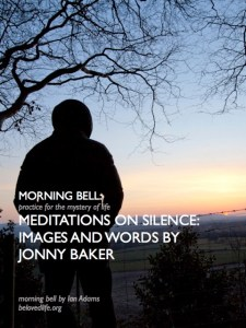 poster for morning bell series with Jonny Baker on silence
