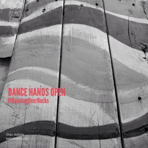 beloved life: dance hands open