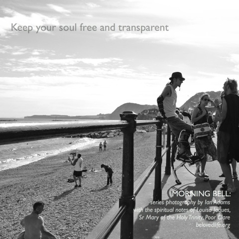 morning bell: keep your should free and transparent