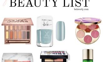 Beauty Wish List | Fall 2016