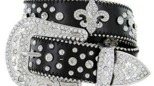 Ladies Fleur De Lis Belt