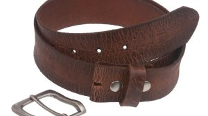 Contour One Ply Top Grain Leather Belt