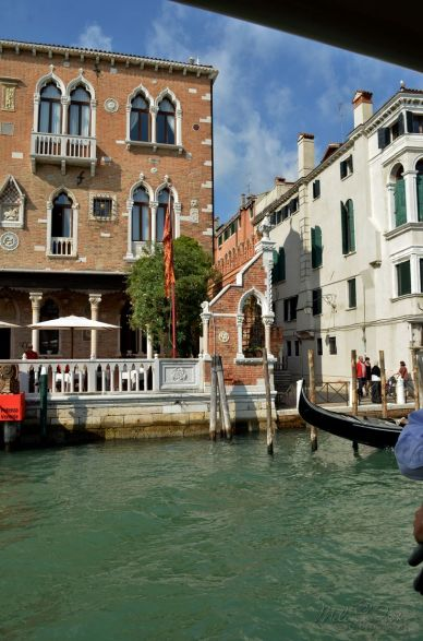 along the Grand Canal