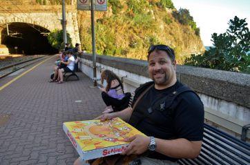 Pizza from Mamma Mia!