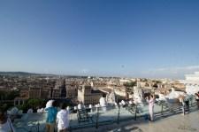 On top of the Vittorio Emanuele II Monument