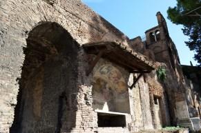 Random ruins on the foundation