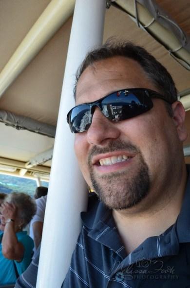 On the ferry to Capri