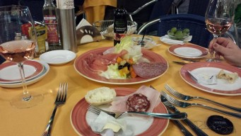 Favourite course is always the Antipasto ( appetizers)