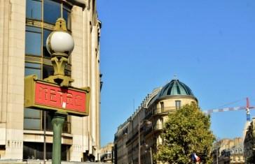 the original Art Nouveau signage