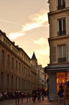 Sunset in Montmartre
