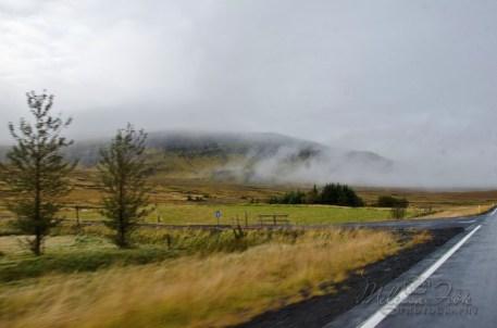 fog slowly lifting