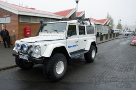 """Lifted """"Super Jeeps"""" were a popular site"""