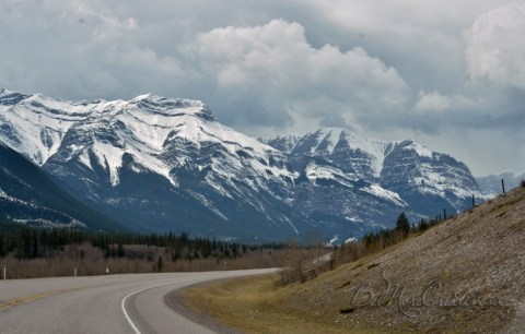 en route to Canmore