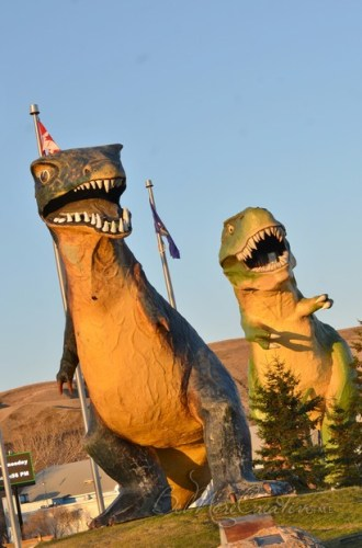 World's Largest Dinosaur, a 86 ft high fiberglass Tyrannosaurus rex