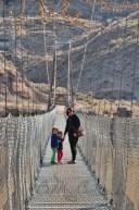 The Star Mine Suspension Bridge is a 117 metre long pedestrian suspension bridge