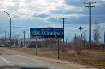 Winnipeg for the night