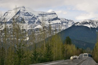 8000ft south-face of Mt. Robson