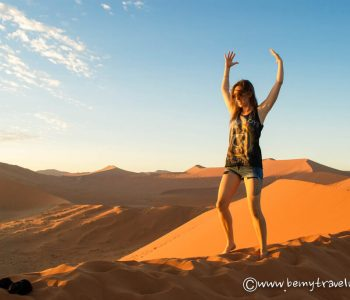 Namibia's Sandy Wonderland: The Orange Dunes of Sossusvlei