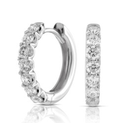 Enthralling Half Carat Diamond Hoop Earrings Half Carat Diamond Hoop Earrings Ben Bridge Jeweler Half Carat Diamond Pendant Necklace Half Carat Diamond Cost