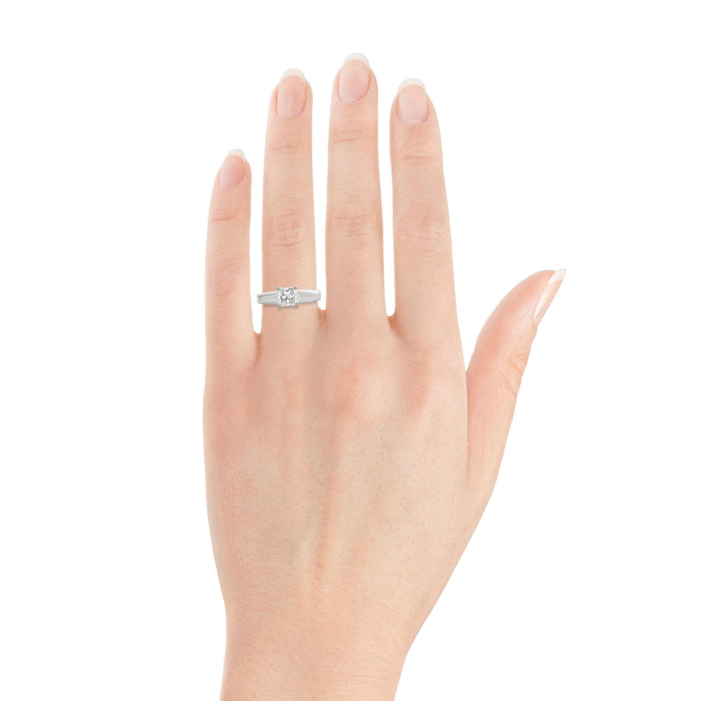 Inspiring Ikuma Canadian Princess Cut Diamond Solitaire Ring Ikuma Canadian Princess Cut Diamond Solitaire Ring Ben Half Carat Diamond Studs Half Carat Diamond Ring On Finger wedding diamonds Half Carat Diamond