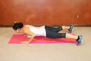 Wide Leg Shoulder Tap Pushup: Part 1