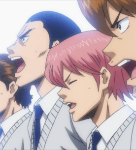 Kris, Tanba, Kominoto, and Jun