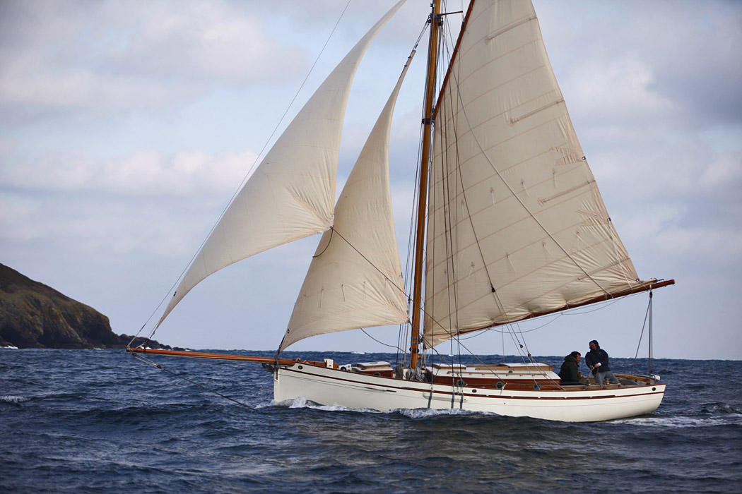'Alva' built by Ben Harris, Falmouth