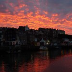 whitby-sunset