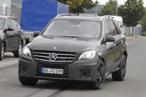1961110861999974039 2012 ML63 AMG Seen Near Nurburgring
